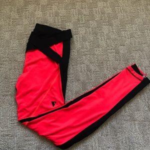 Y.A.S Sport Women's Pink & Black Leggings Sz Small